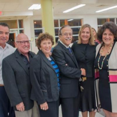 Jim Norton, Dr. Joe & Carol Pomerantz, Co-Presidents: Lou Marett & Andrea Burghardt, Rene LaBonte.