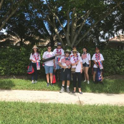 It was an honor for the Weston Philharmonic Society to participate in Weston's Fourth of July Parade! We thank our student volunteers!