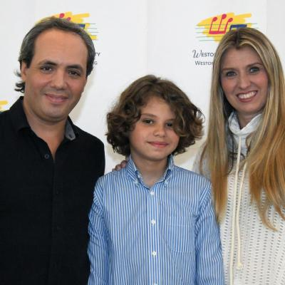 Juan Diego Molina Who Played At The Reception With His Partents Simon And Ingrid